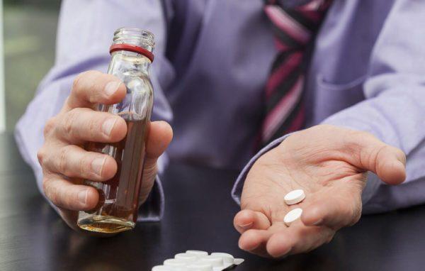 Мидокалм и алкоголь