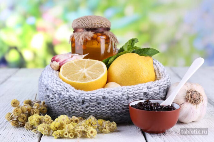 Народная медицина от гриппа и простуды