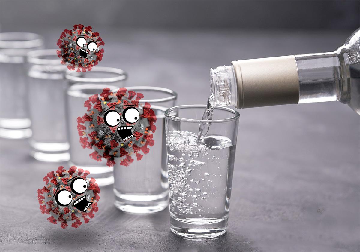 Алкоголь и коронавирус