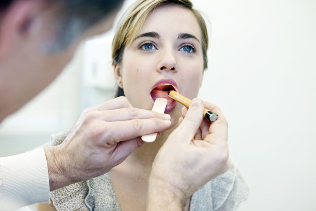 Диагностика горла