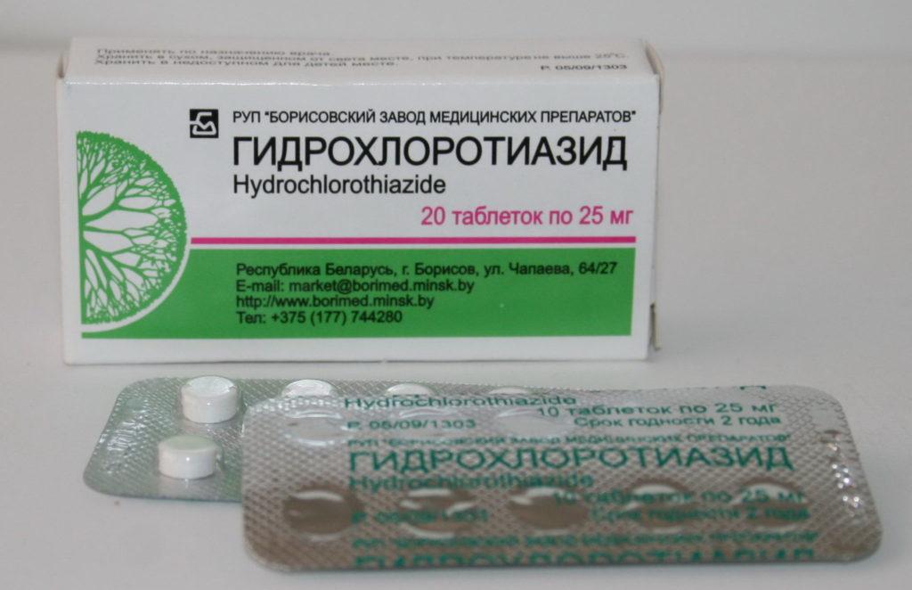 Представитель группы салуретиков - препарат Гидрохлортиазид
