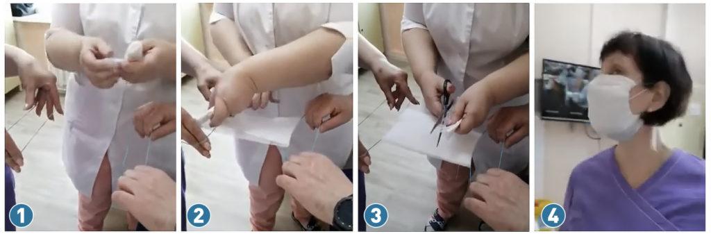 Медицинская маска из марли своими руками