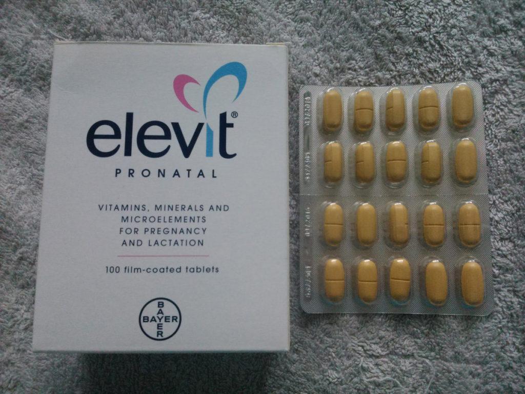 Элевит Пронаталь в таблетках