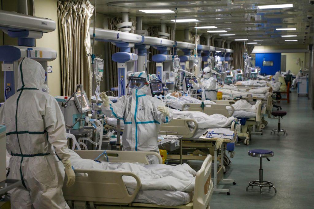 Инфекционная больница для больных COVID-19