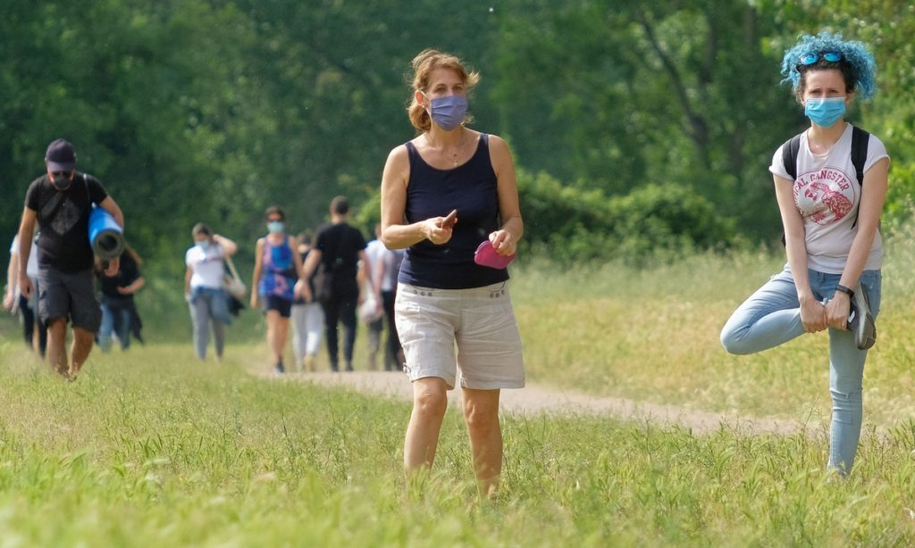 Прогулки во время коронавируса