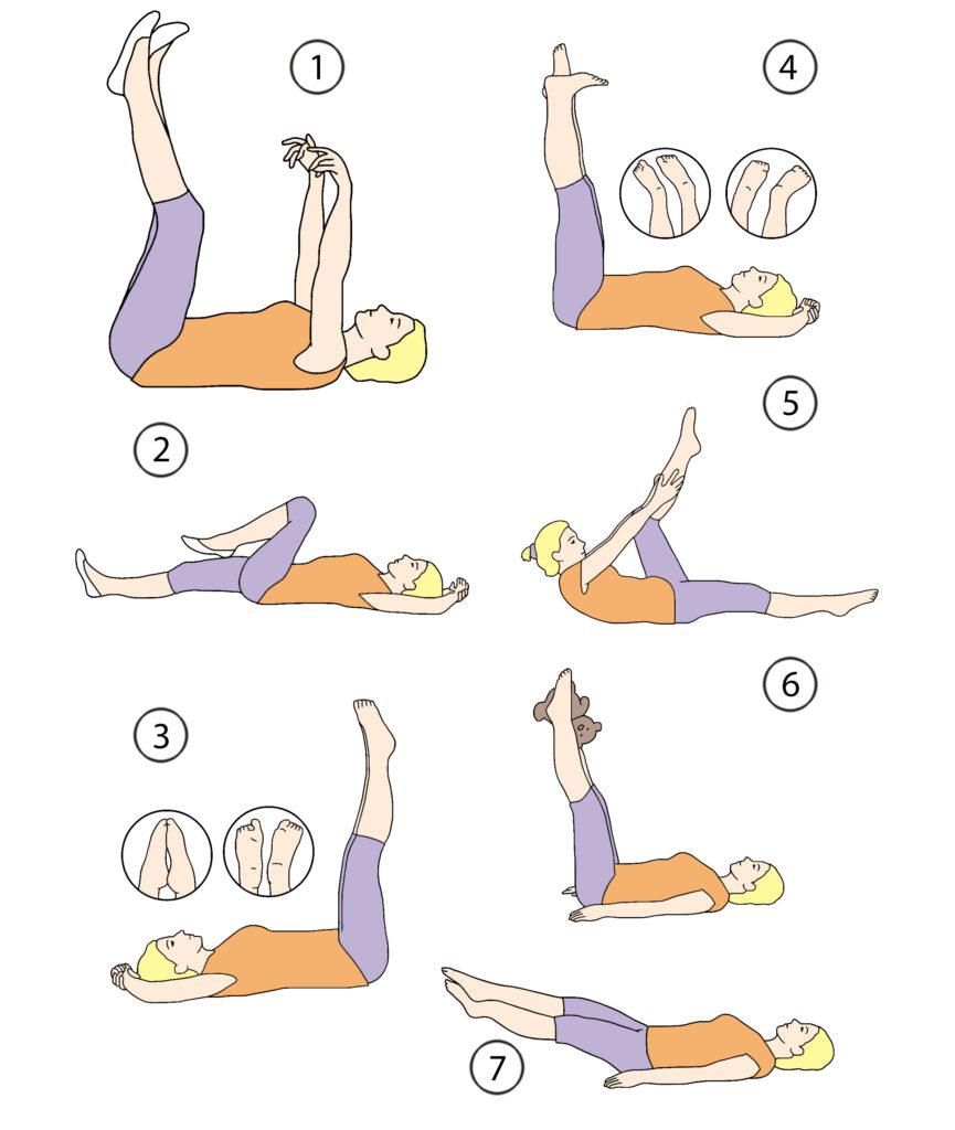 Упражнения при варикозном расширении вен нижних конечностей